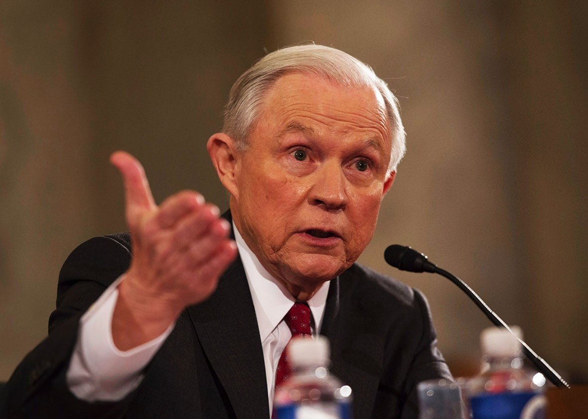 DRAMA: Sessions Calls Russian Allegation 'An Appalling And Detestable Lie' (VIDEO)