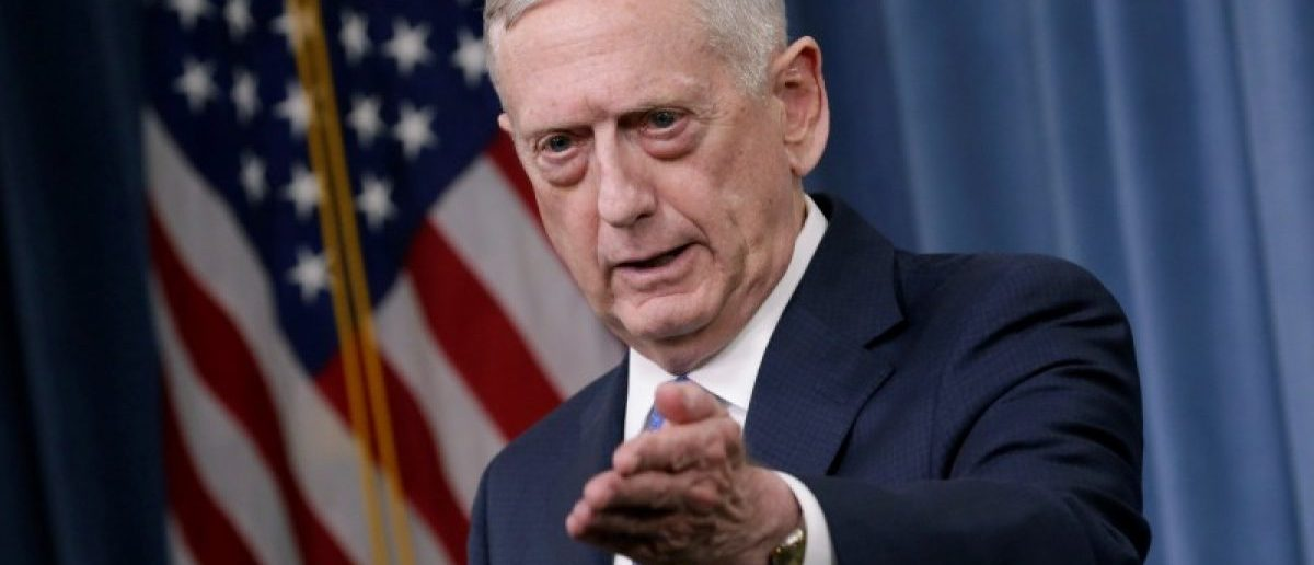 Mattis Calls Out China's 'Contempt' For Nations' 'Interests'