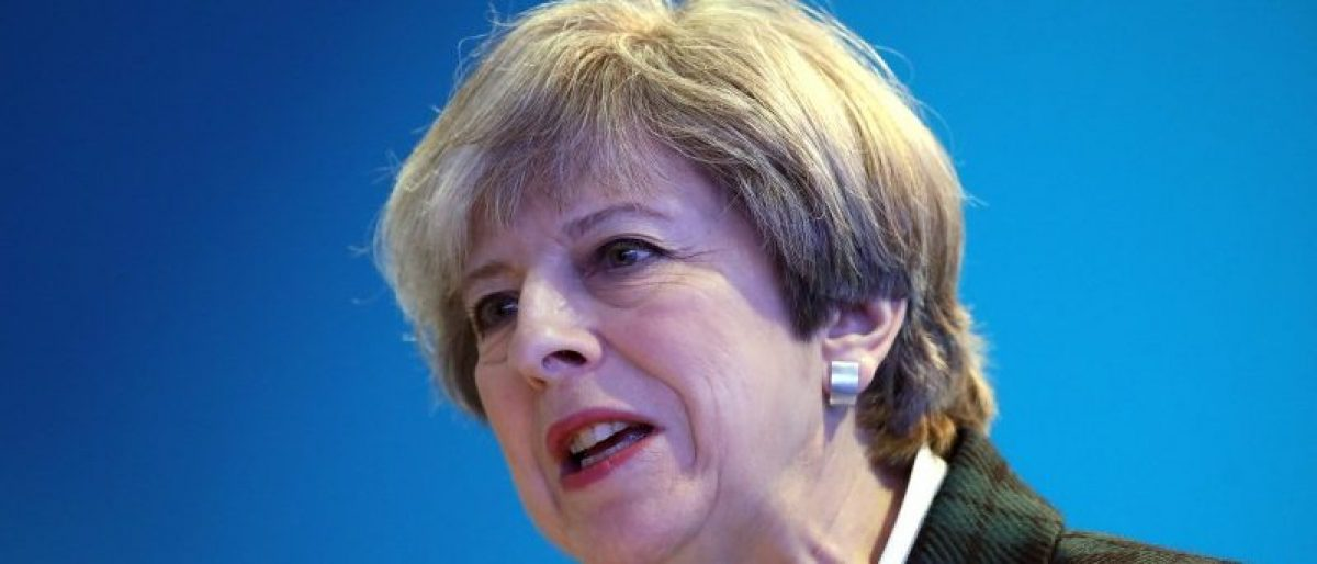 Poll: Theresa May's Lead Cut In Half Ahead Of General Election
