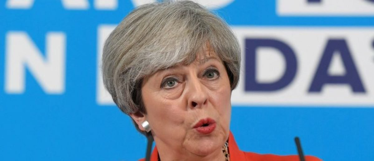 Poll Suggests Theresa May Will Lose Her Majority