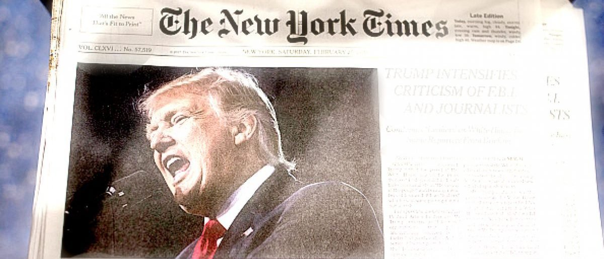 NYT Contradicts Its Own Reporting To Attack Trump