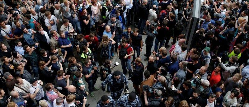 Hundreds Arrested in Moscow Anti-Corruption Protests, Including Opposition Leader