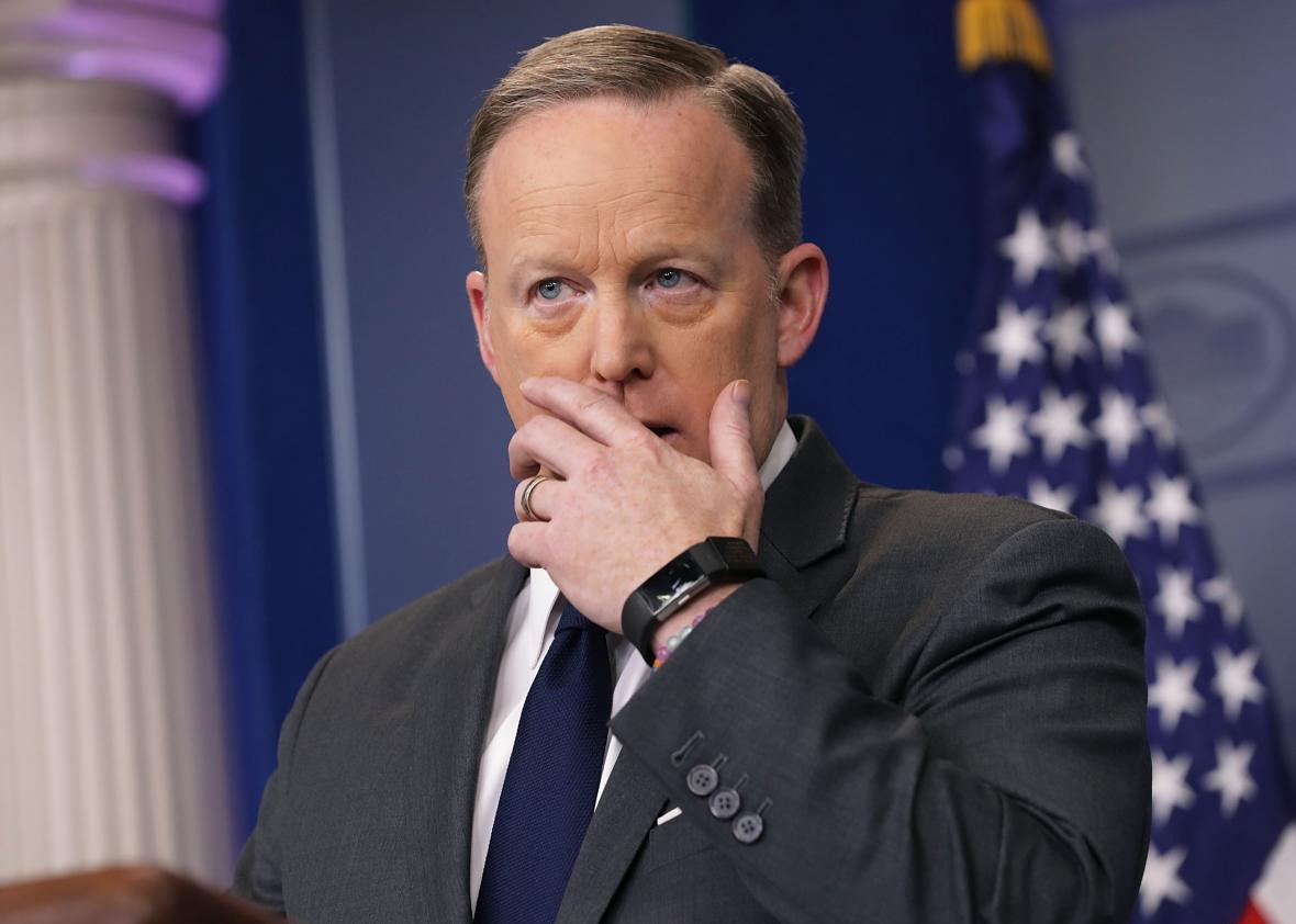 Reports: Spicer Won't Be Doing The Press Briefings For Much Longer