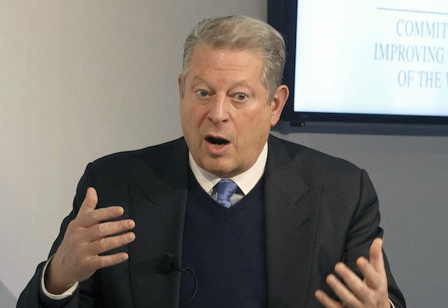 Al Gore Really Likes Comparing Climate Change to a Nature Hike Through the Book of Revelation