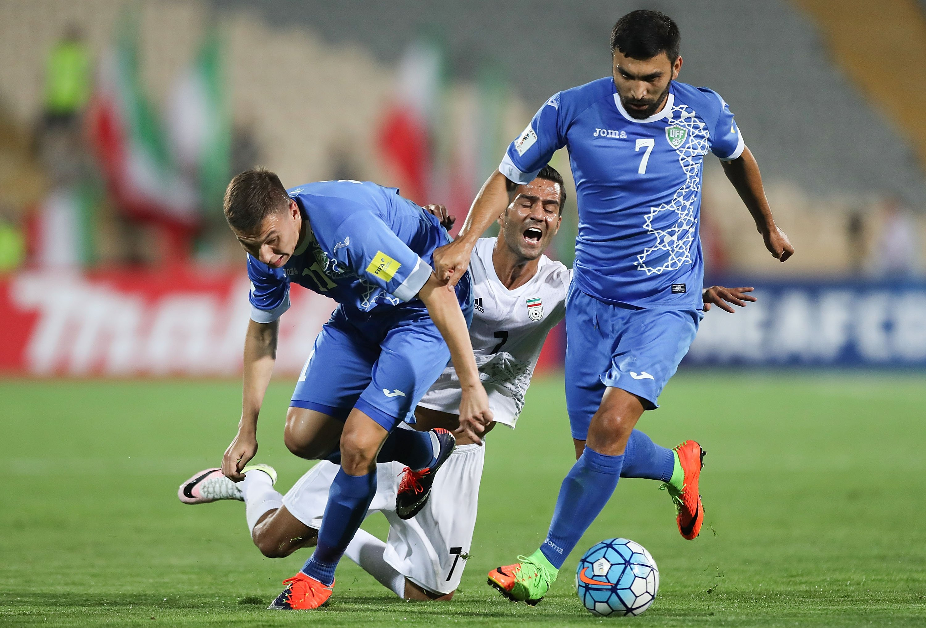 Iran Bans Two Soccer Players for Life After They Played Against Israeli Team