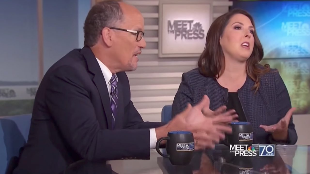 Watch: RNC chairwoman scolds Tom Perez for his vulgar anti-GOP rhetoric — straight to his face