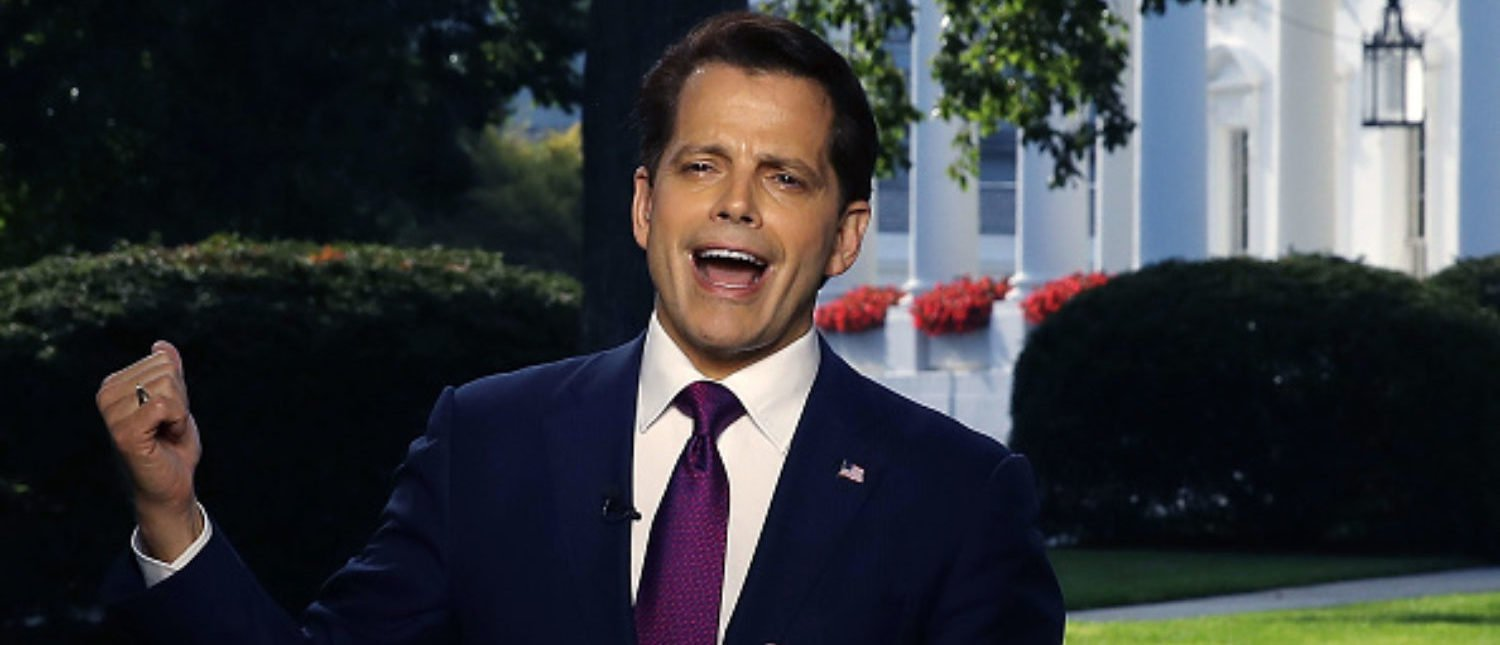 If You Want To Hear The Mooch Say Everything Out Loud: Here's The Recording