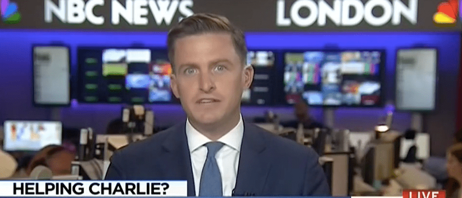NBC Reporter Accuses Trump Of Exploiting Terminally Ill Infant Charlie Gard [VIDEO]