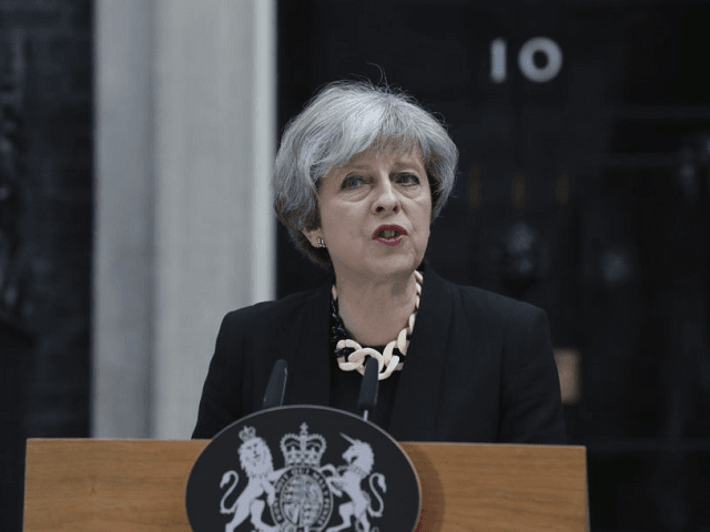 Theresa May: National Threat Level Remains at Severe - 'A Terrorist Attack is Highly Likely' - Breitbart