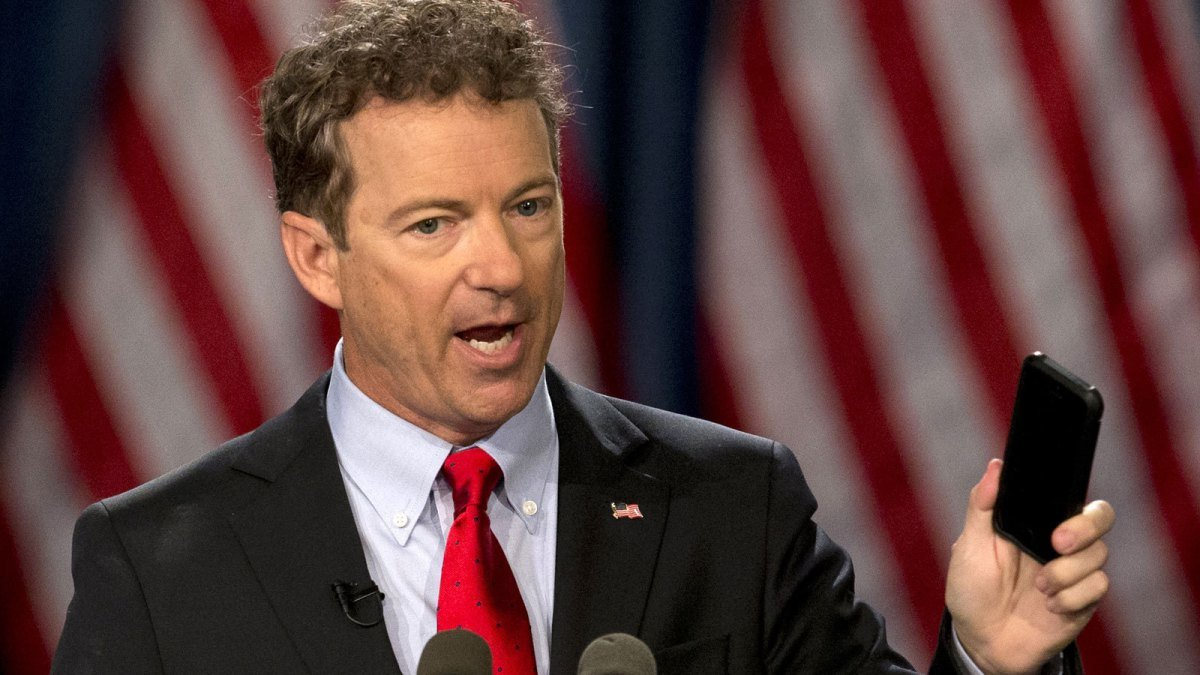 RAND PAUL CLAIMS THE DEEP STATE IS TRYING TO RUN CONGRESS – True Pundit