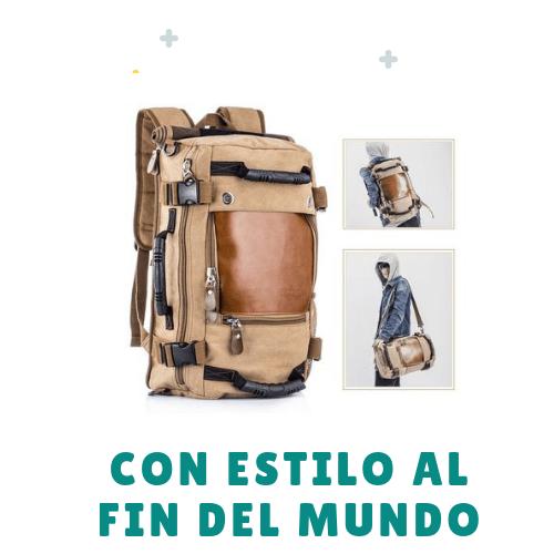 mochila para viajar con estilo al fin del mundo