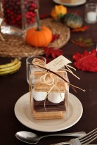 Smores wedding favour