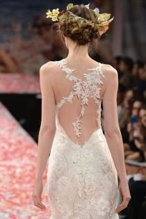 Autumn Bridal look Claire Pettibone