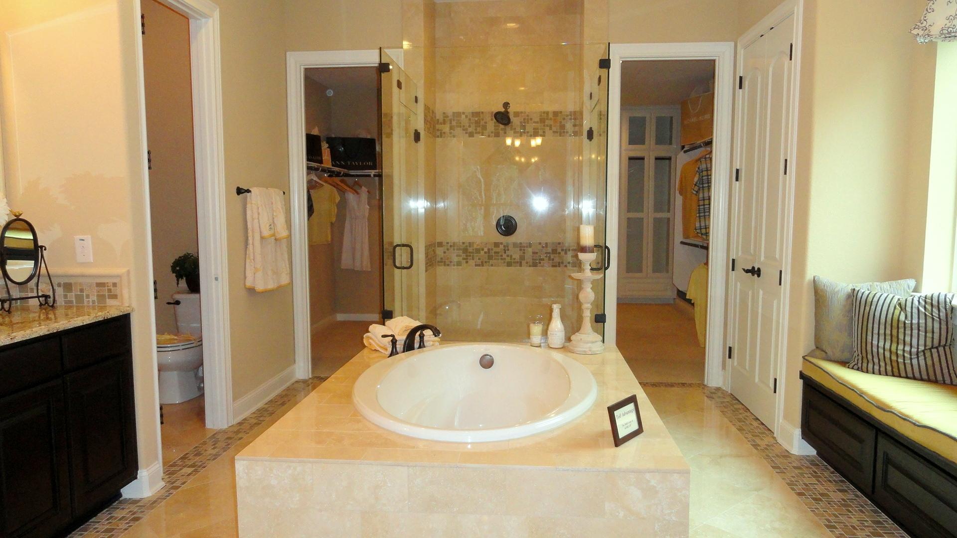 Sitterle Homes | San Antonio Real Estate info on Bathroom Models  id=27762