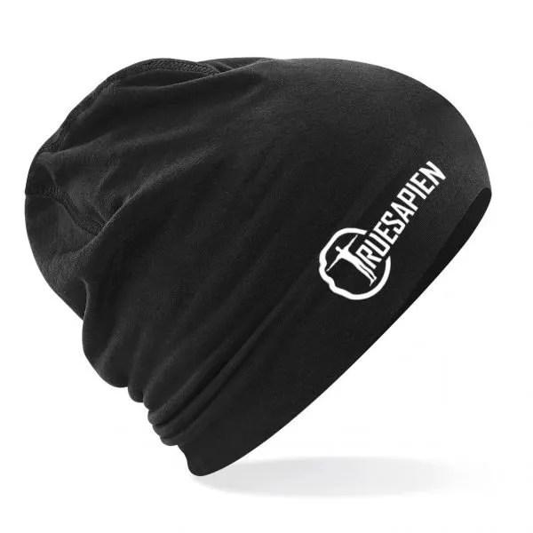 truesapien-beanie-running-hat-black-white