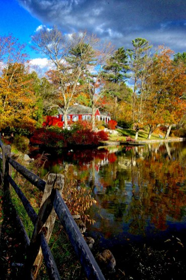Red House in Fall (photo by Jonathan Rodgers)