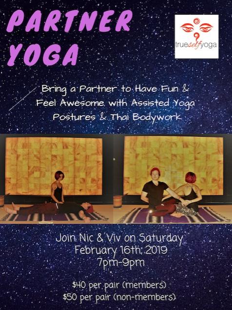 Partner Yoga and Thai Massage!