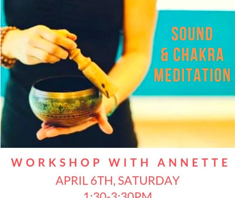 Sound + Chakra Meditation = Relaxation