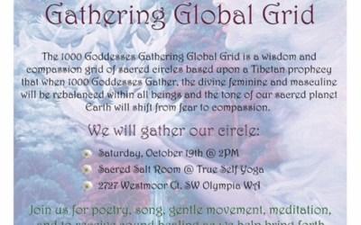 1000 Goddesses Gathering Global Grid