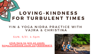 Loving-Kindness Practice for Turbulent Times