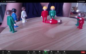Family Constellations online - constellation dolls