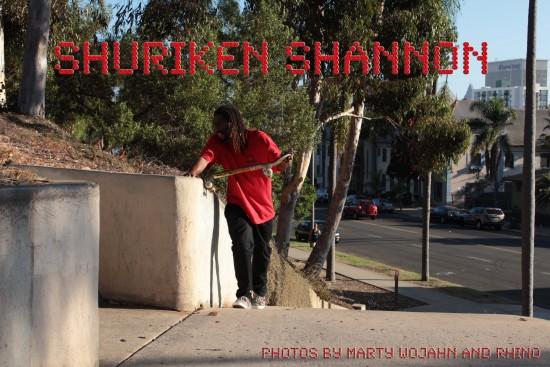 Shuriken Shannon cover