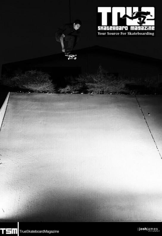 luke camargo   gaping into a steep one   lake havasu az   true skateboard mag   photo: josh james