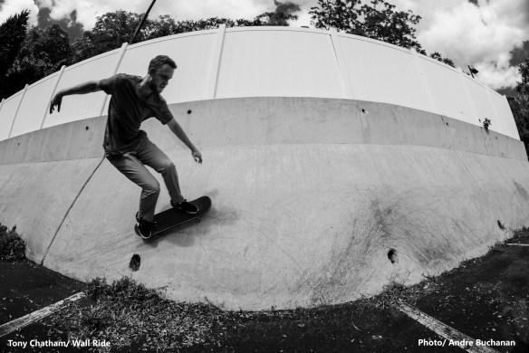 Tony Chatham - Wall ride