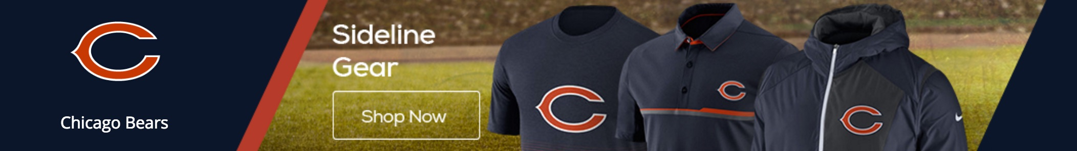 Shop Chicago Bears apparel at the TrueSportsMovies Fan Store
