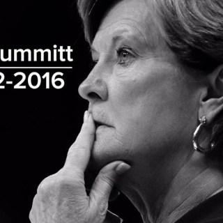 Pat Summitt 1952-2016