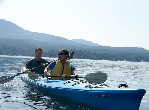 Eagle Island Sea Kayaking near Ketchikan, AK