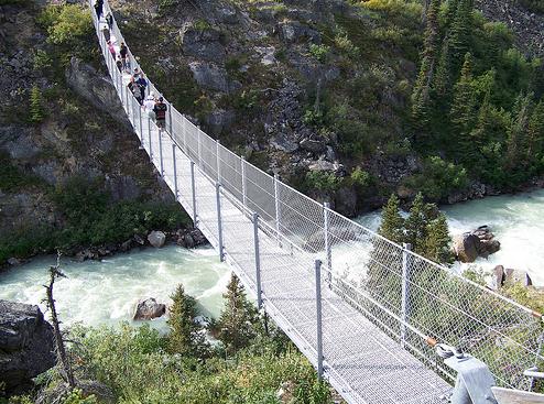 Scary Suspension Bridge