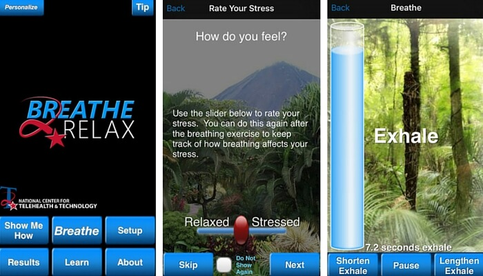 Breathe2Relax - Stress Management Apps