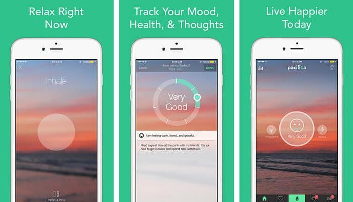 Pacifica - Stress Management Apps