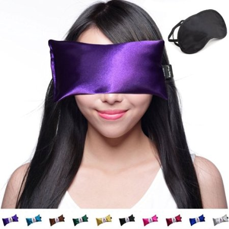 Lavender Eye Pillow - Yoga Eye Pillow for Stress and Migraine Relief