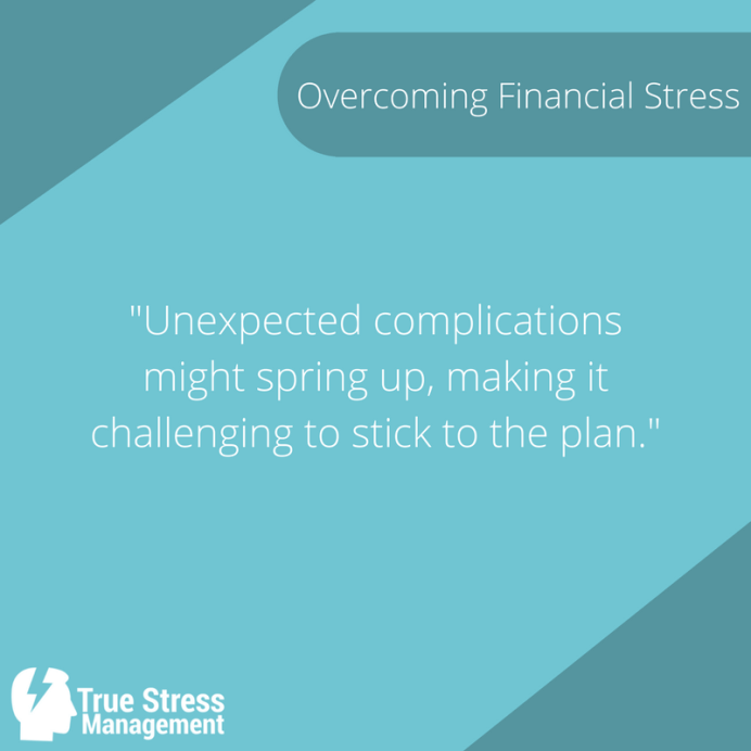 financial stress tip quote