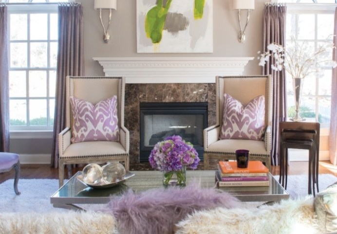 calming lavender room ideas