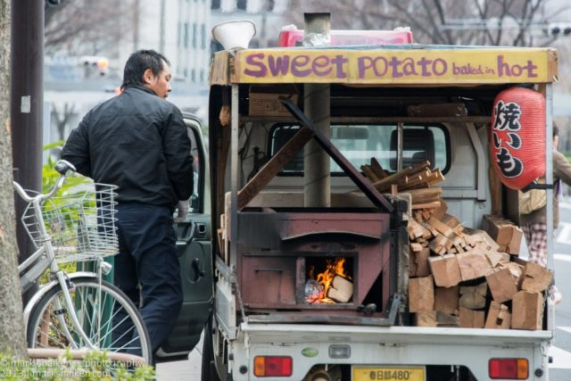 Sweet potato truck, Photo from Flickr by Mark Shaiken
