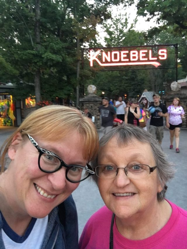 Me and Mom at Knoebels Grove Amusement Park -- Photo by Lauren Shannon