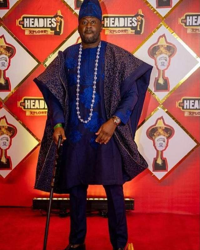 Desmond Elliot Headies awards outfit