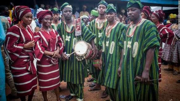 yoruba people ethnic group in Nigeria