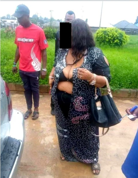 Female Politician Stripped Naked