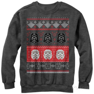 All-Posters crewneck-sweatshirt-star-wars-holiday-helmet gift ideas