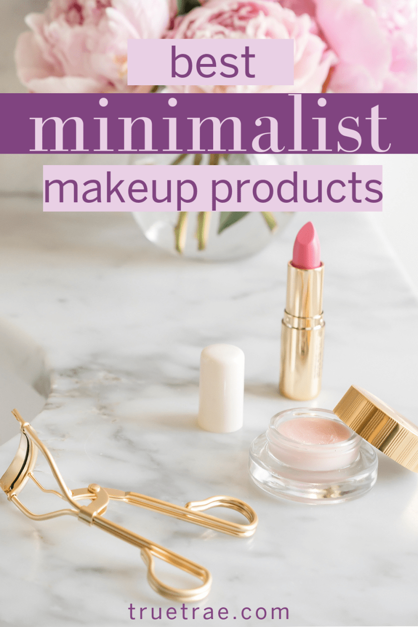 "On those days when I want to look fresh and put together, but not ""made up,"" I find myself turning to these minimalist makeup products for a natural look:"