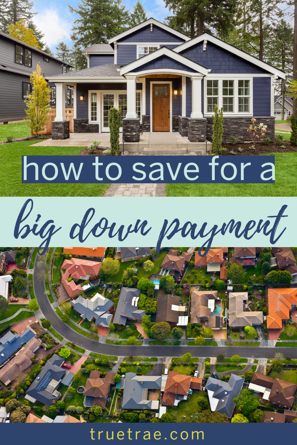 Want to buy a house? Here are tips for saving for a house down payment – especially for a first-time homeowner? #howtosave #firsttimehomeowner #homebuying #buyingahouse #downpayment