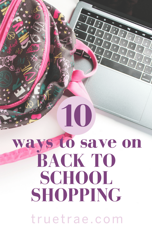 Back to school shopping is a necessary evil, but that doesn't mean it has to cost a fortune. Here are my tips for saving on kids' school supplies and more!