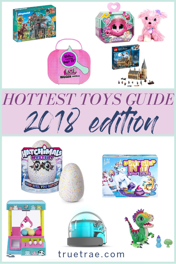 2018 toys   What do kids want for Christmas this year? In this kids gift guide, I've rounded up the hottest toys of 2018. Best kids toys for 2018 right here! #kidsgifts #giftguide #christmasgifts #giftideas #2018gifts #besttoys #besttoys2018 #hottesttoys2018 #2018toys #christmasgiftideas #kidgiftguides #2018toys