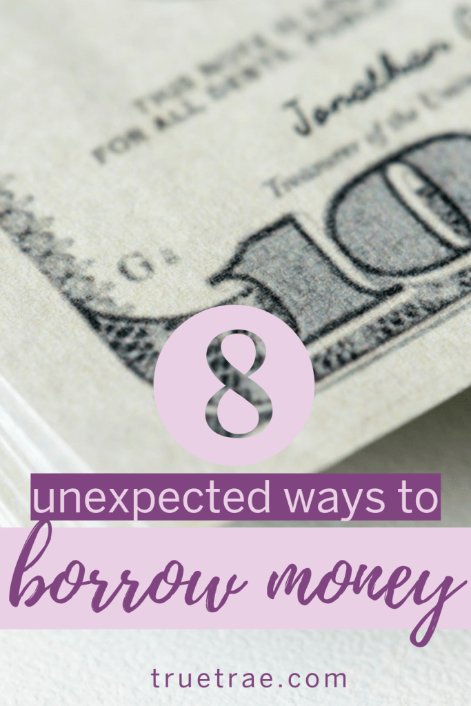 There are plenty of ways to borrow money. But, there are instances where times get rough and you need more cash just to get by. Here's how to find money. #borrowingmoney #getaloan #howtoborrowmoney #waystoborrowmoney #getmoremoney