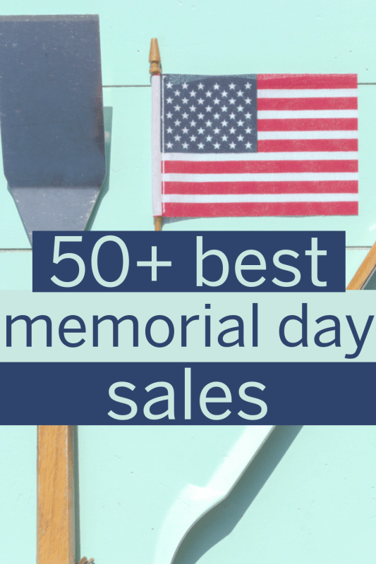 These are the best 2019 Memorial Day sales! Get great deals and steals on items like home appliances and mattresses, travel deals, beauty deals, and more promo codes for online shopping! #memorialday #memorialdaysale #memorialdaysales #promocodes #bestdeals #dealsandsteals #onlineshopping #onlinedeals
