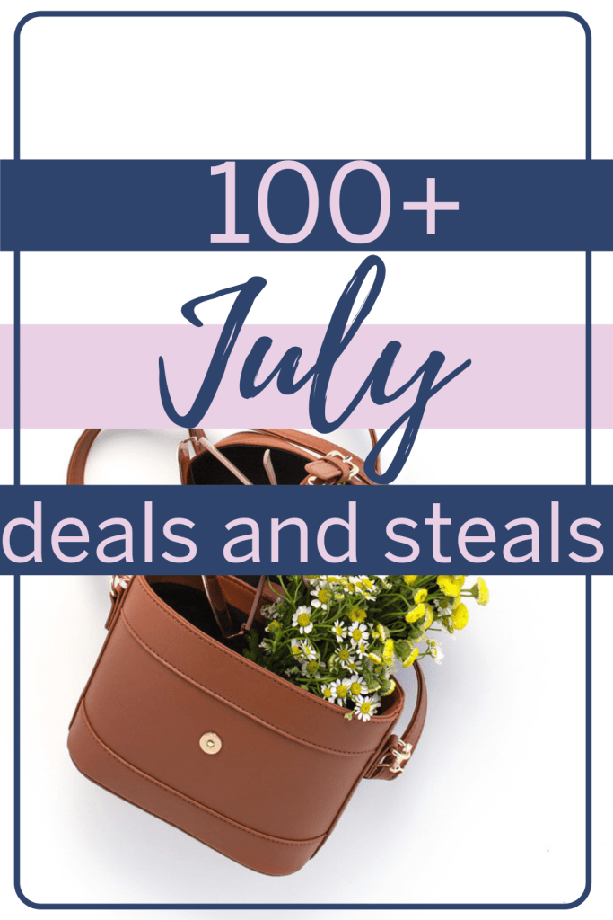 Ready for the best deals in July? These online shopping deals include the best Amazon Prime Day deals, July 4 deals, and more! #dealsandsteals #julydeals #whattobuy #onlineshopping #onlinedeals #shoppinghacks
